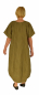 Preview: HF900GN Kleid Lagenlook Ballon Oversize Leinen Gr. 46 48 50 52 grün oil washed Look