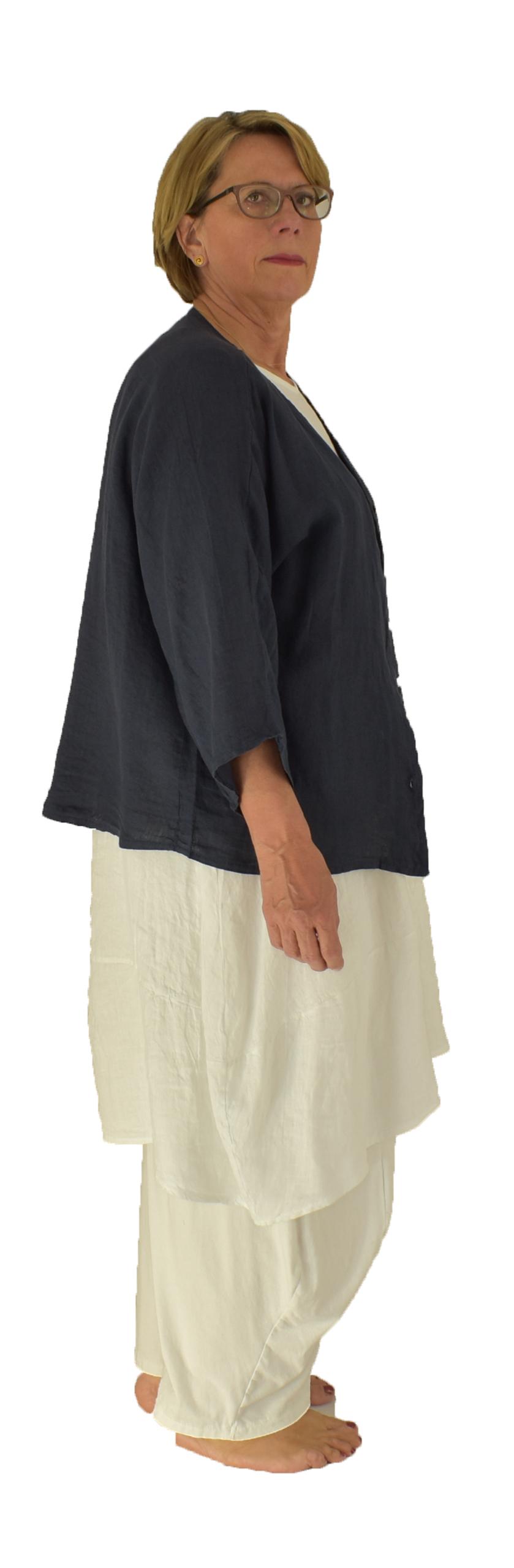 Damen kleider aus leinen
